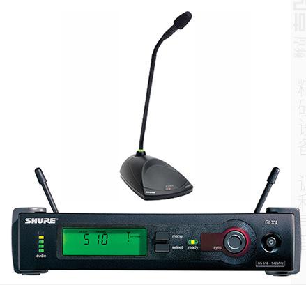 Shure舒尔 MX410LP/C+SLX4+MX890+无线迷尔型鹅颈会议话筒