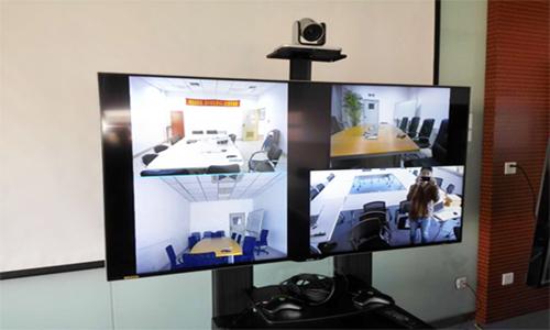 大型视频会议室系统解决方案(POLYCOM GROUP550)