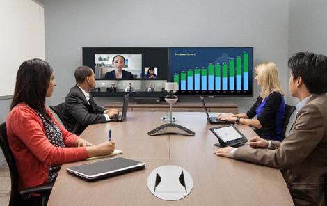 中型视频会议室系统解决方案(Polycom Group550)